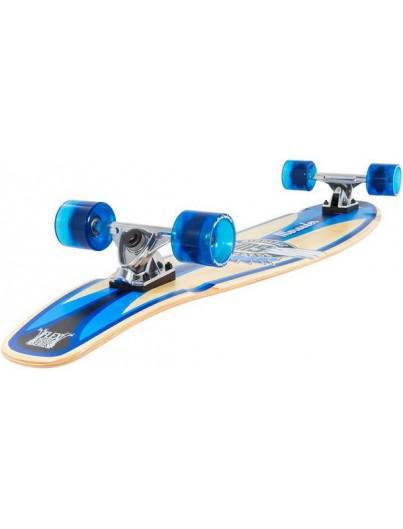 "Enuff Graffiti Oranje-Paars 7.25"" Mini Skateboard"