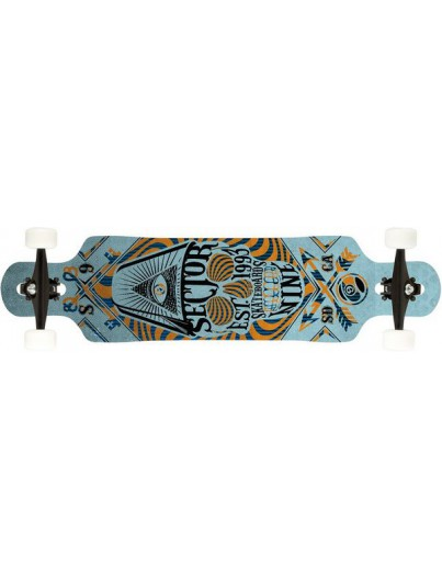 Longboard Mindless Raven rood (gratis extra lagers)