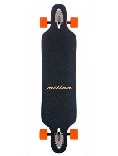 Longboard drop through Voltage Chequer rood