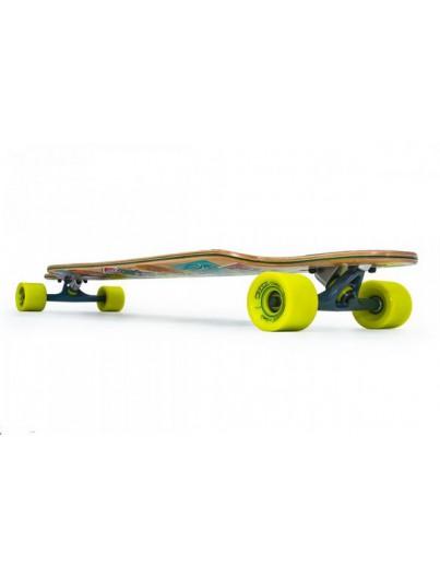 Longboard drop through D-Street Hex groen