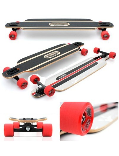 Skateboard Enuff Scramble Zwart/Wit