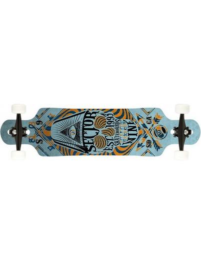 Mindless Raven 34'' Naturel-Rood Longboard