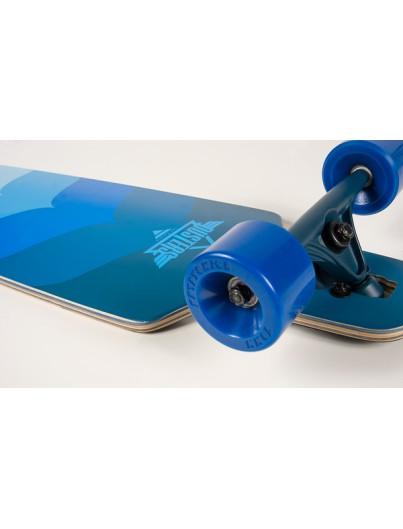 Longboard Mindlless Savage III blauw (gratis poster)