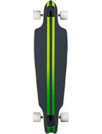 Voltage Stubby Pintail Longboard Blauw