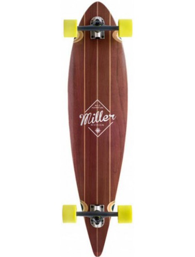 Voltage Logo 7.5 Skateboard Rood