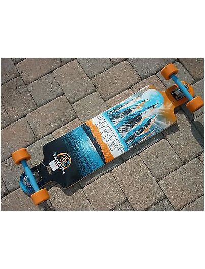 Enuff Block Icon 7.75 Skateboard Blauw + GRATIS Tool