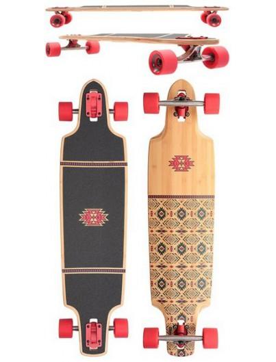 Skateboard Enuff Scramble Groen/Paars onderkant