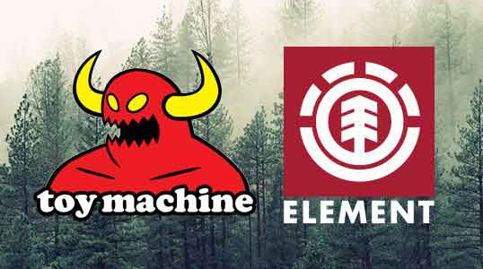 Element & Toy Machine | Re-stock en nieuwe modellen