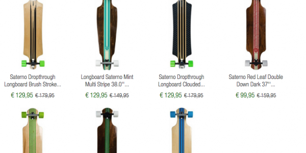 Saterno Longboard SALE